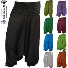 Pump-Aladin-Hose Harem pants pantalon goa ethno hippie indien inde Jumpsuit Yoga