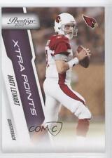2010 Playoff Prestige Xtra Points Purple #4 Matt Leinart Arizona Cardinals Card