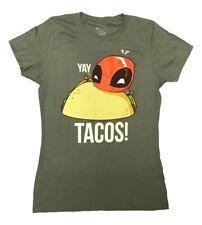 Deadpool Yay Tacos Marvel Comics Junior T Shirt