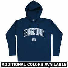 Georgetown Hoodie - Washington DC Hoyas University 202 Nationals DCA - Men S-3XL