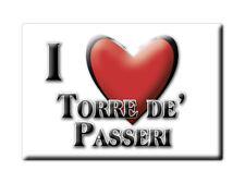 CALAMITA ABRUZZO FRIDGE MAGNET MAGNETE SOUVENIR LOVE TORRE DE' PASSERI (PE)