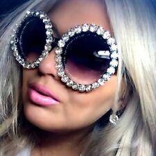 Women Pearl round Rhinestone Sunglasses Cat eye Sun glasse lentes de sol glasses