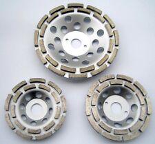 Diamant-Schleifteller Schleiftopf 115 mm 125 mm 180 mm 2-reihig -Neu-
