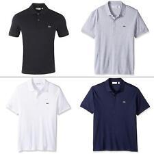 Lacoste Men T-Shirts Cotton Soft Jersey Short Sleeve Regular Fit Polo Shirt