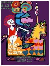 LA se–ora Venus y el diablo Decoration Poster.Graphic Art Interior design. 3748