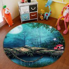 3D Foresta Paesaggio 22 Pavimento Antiscivolo Tappeti Elegante Tappeto IT Carly