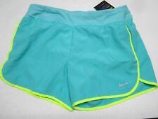 Nwt Nike Girls' Dry Tennis/Running Shorts (Green/Volt) 819733-317 $35