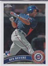 Ben Revere Philadelphia Phillies 2011 Topps Chrome Rookie Card