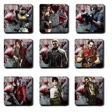 Resident Evil Coasters characters - biohazard - Hard wood - Gift 2 3 4 5 6 7 mug