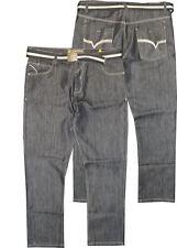 """Raphael valencino Extra Alto Indigo Jeans Negros (Rv5) en la cintura 32-44 """"L"""""""
