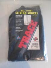 NEW Trace Athletic Baseball Sliding Shorts Padded Sliders White Black XL 40-42