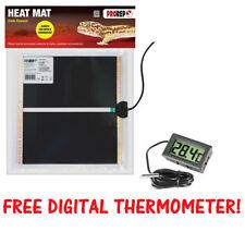 ProRep Heat Mat - Reptile Vivarium Heating - Full Range with Free Thermometer!