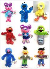 "Sesame Street 13""-15"" Plush - Elmo,Big Bird,Oscar The Grouch,Abby,Bert and More"