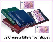 Classeur Billets Touristiques Euro Souvenir