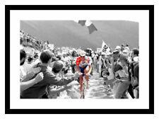 Cycling Legend Miguel Indurain Spot Colour Photo Memorabilia (SP985)