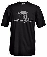 T-Shirt Maglietta A57 Me Ne Frego Teschio Motto Fascismo