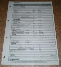 Inspektionsblatt Honda Civic 5-Türer 1,4i - ab 1996!