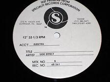 SIDE EFFECT Test Pressing After The Rain M- Elektra 6E-261 MINT- album press