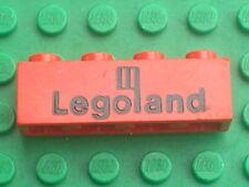 LEGO VINTAGE red Brick LEGOLAND ref 3010p30 / set 570 357 580 360 355 682 683...