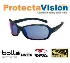 Bolle Hurricane Polarised/Smoke/Clear/Flash lens Safety Glasses Sunglasses