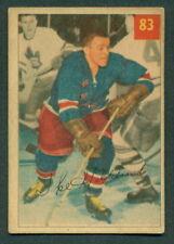 1954 55 PARKHURST HOCKEY #83 IKE HILDEBRAND N Y RANGERS