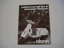 advertising Pubblicità 1979 VESPA P 200 E e OLONA