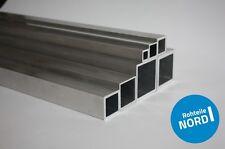 Aluminium Quadratrohr aus AlMgSi0,5 Alurohr Aluprofil Alu Vierkantrohr Modellbau