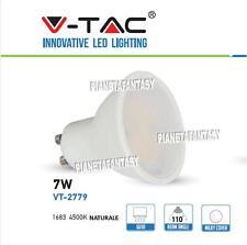 Lampadina Led V-Tac GU10 7W Lampada per Porta Faretto In Gesso a Scomparsa
