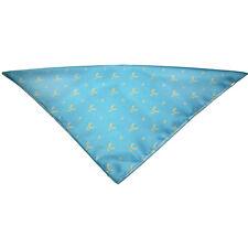 Foulard 50 x 50 cm Polyester écharpe Avec Impression Hirsch 31434 bleu clair