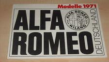 43502) Alfa Romeo GTA Junior GTA Zagato 1750 GT Veloce Montreal Prospekt 1971