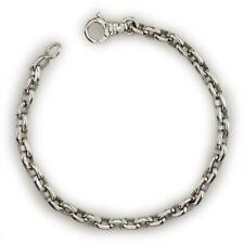 Handcrafted Rolo Bracelet in 14K
