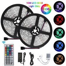 5M 10M RGB LED Strip Streifen 5050SMD LED Band mit Controller Set, wasserdicht