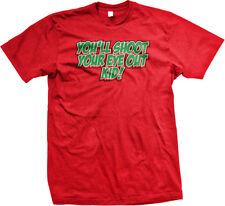 You'll Shoot Your Eye Out Kid Christmas Movie BB Gun Toy Lose An Men's T-Shirt