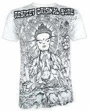 SURE Herren T-Shirt Nirvana Buddha Yoga Esoterik Asien Lotus-Blüte Goa Om M L XL
