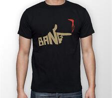 Cowboy Bebop BANG Spike Spiegel Anime Manga Unisex Tshirt T-Shirt Tee ALL SIZES