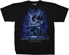 JIMI HENDRIX-KING OF KINGS-GUITAR-TSHIRT S, M, L, XL, 2XL, 3X, 4X, 5X