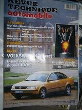VW PASSAT turbo diesel 4 cylindres : revue technique RTA 625