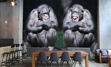 3D Black Orangutan Animals 3771 Wall Paper Wall Print Decal Wall AJ WALLPAPER CA
