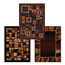 """Modern Abstract 8x11 Area Rug Contemporary Border Carpet - Actual 7' 9"""" x 10' 8"""""""