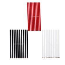 10pcs White/Red/Black Tailoring Pencils/Fabric Marking Pencil/Wood/Plastic/Paper