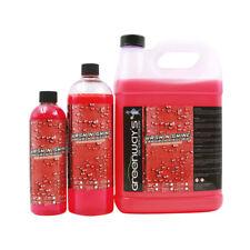 Spray car wax gloss shine polish automotive protection helps water spots drying