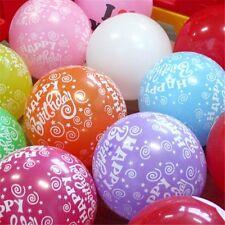 Happy Birthday Mix Printed balloons Helium gas BALLOON ALL  Birthday Party baloo