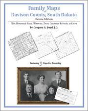 Family Maps Davison County South Dakota Genealogy SD