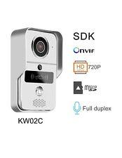 720P HD Smart Timbre Inalámbrico Wifi Video con 7 Tarjetas Rfid Y Accesorios