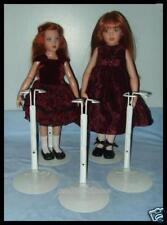 """3 KAISER Doll Stands for Kish 14"""" Lark Chrysalis 16"""" Seasons"""