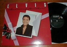 """ELVIS PRESLEY 1982 """"Memories Of Christmas"""" LP NM-"""