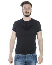T-shirt Maglietta Emporio Armani T-Shirt Sweatshirt % Uomo Nero 3Z1T651JPRZ-999