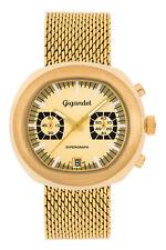 Gigandet Supergraph Herren Quarz Armbanduhr Chronograph Analog Gold G11-004