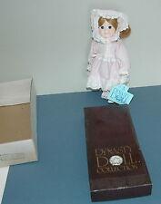 """Vintage 1983 Dynasty Doll Collection Kara Jane Bisque Porcelain Cloth Dolls 12"""""""