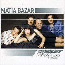 MATIA BAZAR - BEST OF PLATINUM NEW CD